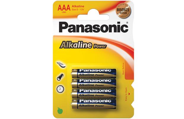 powerline panasonic alkaline power batteries