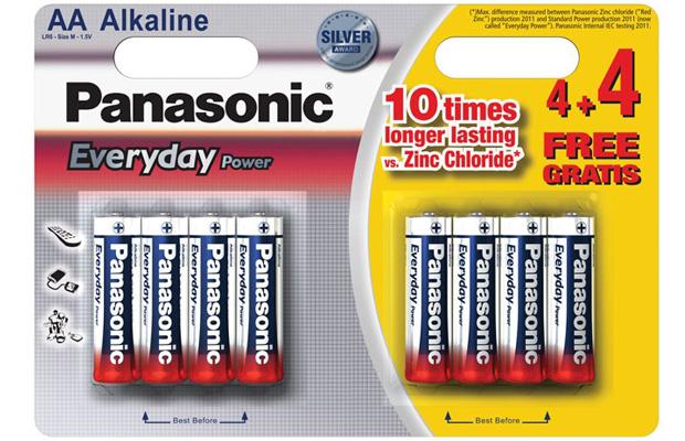 powerline panasonic alkaline everyday power batteries